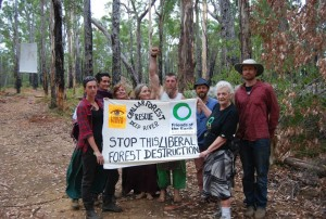 2014-03-Protest camp-Challar- Forest block